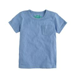 BOYS' SLUB POCKET TEE in Navy Blue item a5375 $16.50 FREE SHIPPING