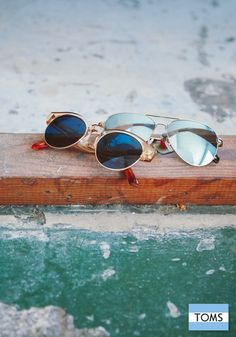 Giving looks good with every pair of TOMS Eyewear.