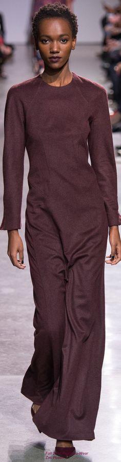 Fall 2016 Ready-to-Wear Zac Posen