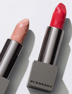Burberry Lip Velvet - richly pigmented lip colour with a creamy, soft-matte finish. Elegant and bold full coverage in one stroke.