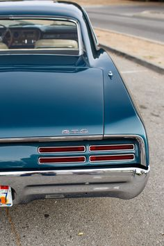 This 1967 Pontiac GTO hardtop is a 3-owner example that received a body-off restoration about 5 years ago. Built to look stock but perform and drive like a more modern car, it sports a balanced and blueprinted 400CI V8, THM automatic with Hurst shifter, disc brakes and rebuilt A/C.