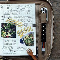 Hobonichi planner page style #filofax #planner