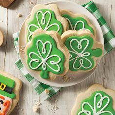 Biscuits pour la Saint-Patrick