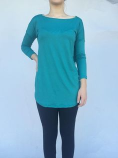Teal California Tunic · The Bashful Blossom Boutique · Online Store Powered by Storenvy