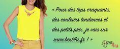 Best4u : les tops de l'été colorés à souhait