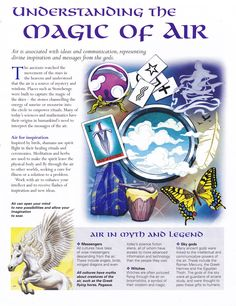 Magick Spells:  #BOS Understanding the #Magic of #Air page.