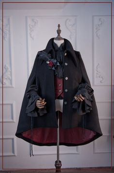 ZJ Story -The Kindred- Ouji Lolita Woolen Cape