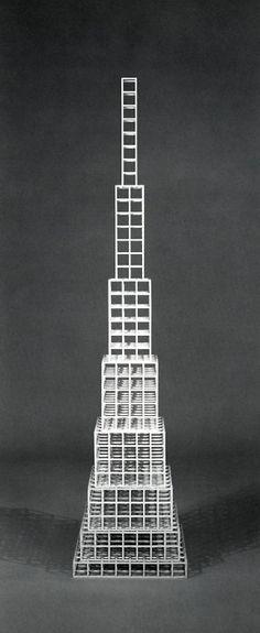 Sol LeWitt, 8 x 8 x 1, 1989