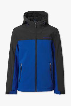 Softshell jacket C&A Softshell, Athletic, Jackets, Tops, Fashion, Rain, Fashion Trends, Down Jackets, Moda