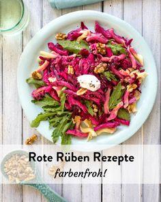 Rote Rüben Rezepte. Mach dir einen bunten Herbst! Marley Spoon, Bunt, Cabbage, Vegetables, Food, Handy Tips, Fresh, Fall, Food Food