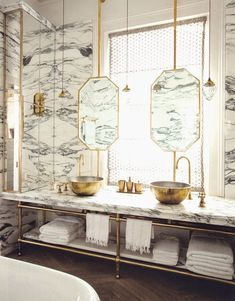 Marble Bathroom /