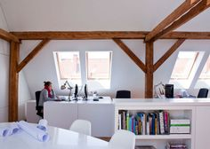 roof line - skylights. Workshop in the Attic by PL.architekci