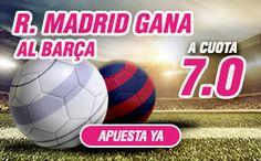 el forero jrvm y todos los bonos de deportes: wanabet supercuota 7 clasico gana Real Madrid tiem...