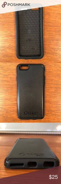 Black Otterbox for iPhone 6 or 6s Black Otterbox for iPhone 6 or 6s. No cracks, just some minor scratches. Message me if you have any questions! OtterBox Accessories Phone Cases