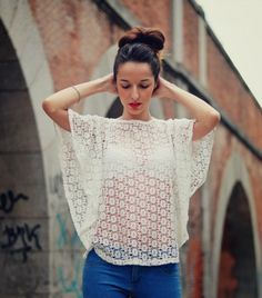 TENDENCIA: CROCHET   JEANS by Corazón de maniqui on Beauty Walks