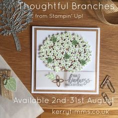 Sneak Peak of the Thoughtful Branches set