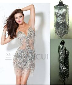$134.75 2013 latest bling bling paty dress - http://zzkko.com/book/shopping?note=19275