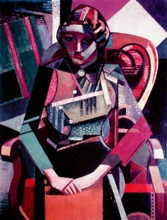 Seated Woman by Jean Metzinger