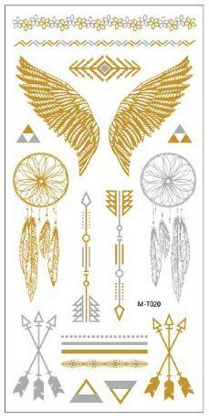 2016 New summer arabic indian designs body painting jewerly metallic gold silver black new henna flash tattoo tatuajes metalicos Tattoo Oil, Gold Tattoo, Metal Tattoo, Paint Tattoo, Boho Tattoos, Feather Tattoos, Body Art Tattoos, Leg Tattoos, Realistic Temporary Tattoos