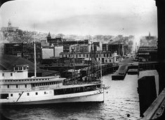Pioneer Square from waterfront, 1896   by Seattle Municipal Archives