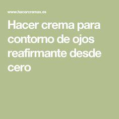 Hacer crema para contorno de ojos reafirmante desde cero #jeunesse #luminesce #ageless #bolivia