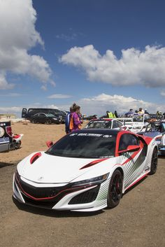 awesome 2017 Acura NSX – Pikes Peak official pace car (4) Check more at http://www.cars.onipics.com/2017-acura-nsx-pikes-peak-official-pace-car-4/