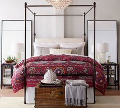 Antonia Canopy Bed - Master Bedroom Decor - Decorating Ideas - affiliatelink