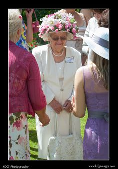 High tea bridal shower. Best hats.