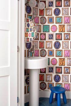 Small Bathroom Inspiration, Nerd Decor, Pedestal Sink, Soft Towels, Kids Room, Child Room, Luxury Interior Design, Bath Remodel, House Rooms