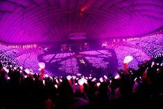 Snsd, Yoona, Yuri, Girl's Generation, Concert Stage Design, Concert Crowd, Pink Ocean, Tokyo Dome, Photo Grid