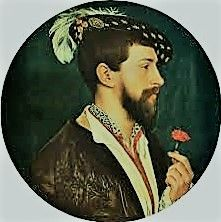 George Boleyn's final embassy was in May 1535 when he and his uncle were appointed by the King to negotiate a marriage contract between the King of France's third son and the baby Princess Elizabeth. Tudor History, British History, Tudor Era, Princess Elizabeth, Viscount, Jane Seymour, Queen Of England, Henry Viii, Anne Boleyn