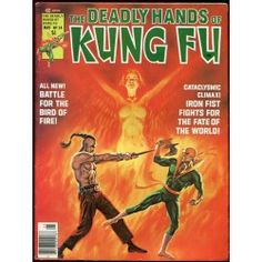 Marvel. The deadly hands of kung fu. 24.
