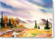 After The Rain Greeting Card by Teresa Ascone