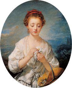 Jean-Baptiste Greuze, French (1725 – 1805), La Simplicité (Simplicity), 1759
