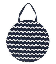 The Waves Circle Tote Gorman Little Bag, Super, Waves, Mens Fashion, Black And White, Clothes For Women, My Style, Accessories, Moda Masculina