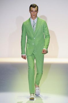 Gucci Men's S/S '13 go green