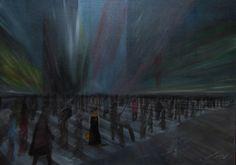 paweł widera /odnaleźć ludzi - w poszukiwaniu miłości/ original acrylic paintings art