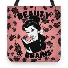 Beauty & Brains | HUMAN | T-Shirts, Tanks, Sweatshirts and Hoodies