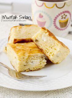 su_boregi_tarifi Turkish Recipes, Asian Recipes, Ethnic Recipes, Turkish Kitchen, Pizza, Camembert Cheese, Food To Make, French Toast, Recipies