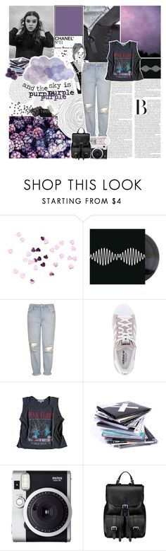 """and the sky is purple / tbotss"" by lucidmoon ❤ liked on Polyvore featuring Topshop, adidas, Floyd, Fuji, Aspinal of London and NARS Cosmetics"