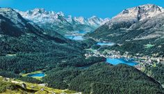 Summer in St. Moritz  #Switzerland #travel