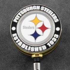 Pittsburbh Steelers Retractable Badge Reel Est In