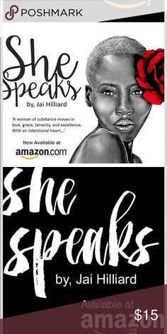 """Purchase my book """"SheSpeaks"""" on Amazon 🌹💋 JaiSheSpeaks book on Amazon.com 🌹💋 Get your copy Today❤️ Other"""