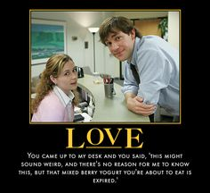 Pam and Jim - the Office