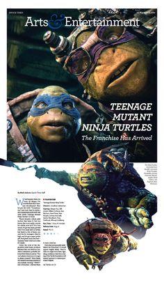 'Teenage Mutant Ninja Turtles': The Franchise Has Arrived|Epoch Times #newspaper #editorialdesign #film