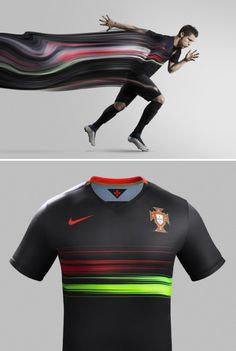 competitive price ba85d 2f771 Nike unveils stunning new Portugal Away Kit Nike Portugal, Latest Football  Boots, Nike Basketball