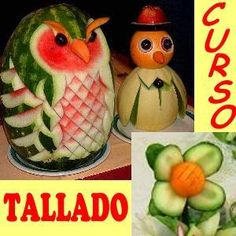 Manualidades on pinterest for Decoracion de frutas para fiestas infantiles