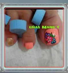Uñas de pies Pedicure Designs, Toe Nail Designs, Cute Pedicures, Easter Nails, Acrylic Nail Art, Toe Nails, Lovers Art, Projects To Try, Cheese