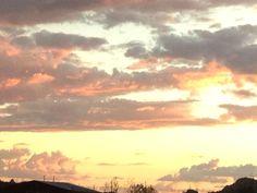 Sunset sky #Monsoon2014