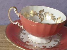 Vintage Aynsley England Bone China Tea Cups | antique Aynsley bone china tea set, vintage 1930's English tea cup and ...